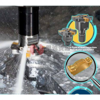 伊斯卡ISCAR 带连接螺纹的迷你槽铣刀 直径范围16-22mm 迷你槽铣刀