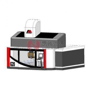MAXXTORN_大君鸿高速高架五轴加工中心机G2025