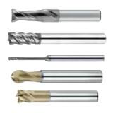 SCZY H650系列钨钢平铣刀/球形铣刀/圆鼻铣刀